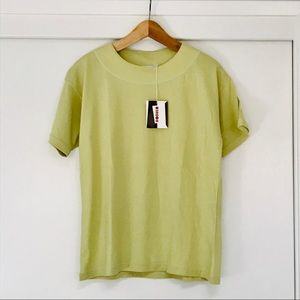 SALE 🔥 NWT Rodier Green Top - Sz Small